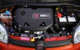 0.9-litre TwinAir Fiat Panda engine