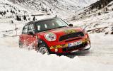 Mini Countryman JCW prototype in snow