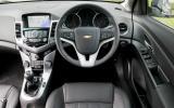 Chevrolet Cruze dashboard