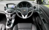 Chevrolet Cruze dashboard