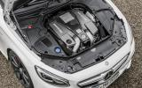 5.5-litre V8 Mercedes-AMG S 63 Coupe engine