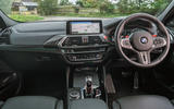 BMW X4 M Competition 2019 road test review - dashboard