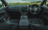 Aston Martin DBX 2020 road test review - dashboard