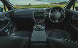 Aston Martin DBX 2020 road test review - dashboard