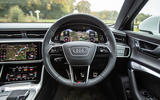 Audi A6 Avant 2018 road test review - dashboard