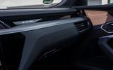 Audi E-tron Sportback 2020 road test review - interior trim