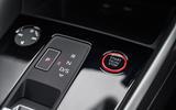 Audi S3 Sportback 2020 road test review - start button