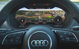 Audi SQ2 2019 road test review - instruments maps