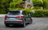 Audi SQ5 TDI 2020 road test review - static rear