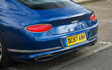 Bentley Continental GT 2018 Autocar road test review boot