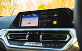 BMW 3 Series Touring 2020 road test review - infotainment