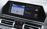 BMW M8 Competition coupe 2020 road test review - infotainment