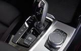 BMW X4 2018 road test review centre console