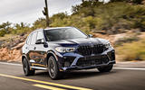 BMW X5 M Competition 2020 road test review - on the road front