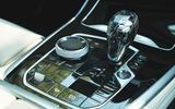 BMW X7 2020 road test review - centre console