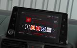 Citroen Berlingo 2018 road test review - infotainment