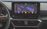 Cupra Leon 2020 road test review - infotainment