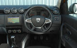 Dacia Duster 2018 road test review dashboard