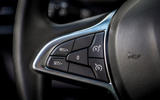 14 dacia sandero tce 90 2021 uk first drive review steering wheel buttons