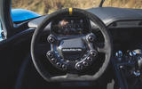 Dallara Stradale 2019 road test review - steering wheel