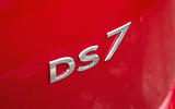 DS 7 Crossback 2018 road test review DS7 badge