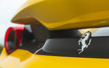 Ferrari 488 Pista 2019 road test review - rear badge