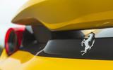 Ferrari 488 Pista 2019 road test review - rear badge