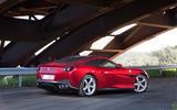 Ferrari Portofino review roof up