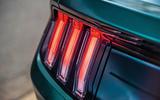 Ford Mustang Bullitt 2018 road test review - brake lights