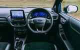 14 Ford Puma ST 2021 road test review dashboard