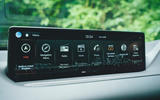 14 Genesis GV80 2021 road test review infotainment