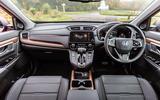 Honda CR-V 2018 road test review - dashboard