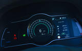 Hyundai Kona Electric 2018 road test review - instrument cluster