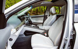 Hyundai Nexo 2019 road test review - front seats