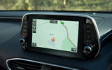 Hyundai Santa Fe 2019 road test review - satnav