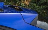 Jaguar I-Pace 2018 road test review rear spoiler