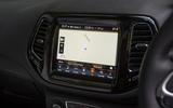 Jeep Compass 2018 road test review - satnav