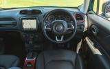 14 Jeep Renegade 4xe 2021 RT dashboard