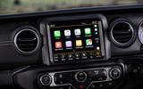 Jeep Wrangler 2019 road test review - infotainment carplay