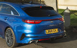 Kia Proceed GT-Line 2019 road test review - rear end