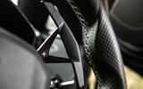 Lamborghini Aventador SVJ 2019 road test review - paddle shifters