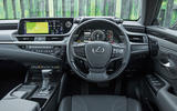 Lexus ES 2019 road test review - dashboard