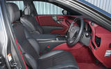 Lexus LS500h 2018 road test review cabin