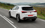 Lexus UX 2019 road test review - hero rear