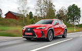 Lexus UX 2018 road test review - on the road house