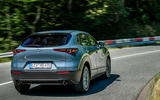 Mazda CX-30 2019 road test review - cornering rear