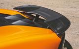 McLaren 600LT Spider 2019 road test review - spoiler