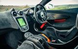 14 McLaren 620R 2021 road test review cabin