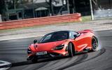 McLaren 765LT 2020 road test review - drift