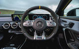 Mercedes-AMG A45 S 4Matic+ 2020 road test review - steering wheel